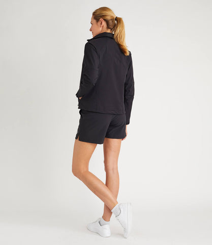 Clarice Track Jacket Black