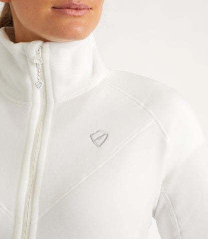 Imogen Microfleece Jacket White