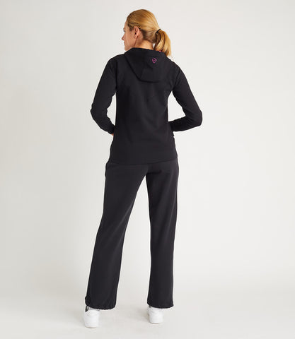 Jade Cotton Pant - Black