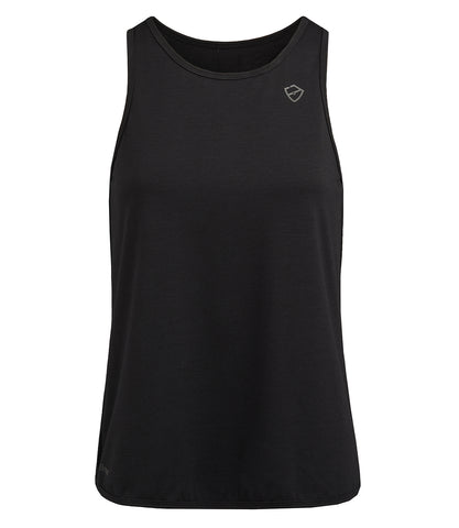Layla Loose Vest - Black