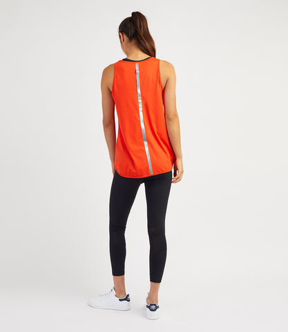 Layla Loose Vest - Flame