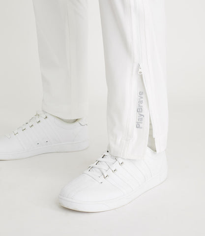Leon Tapered Pant White