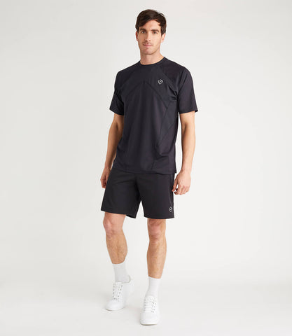 Luther Athletic Woven Short - Black