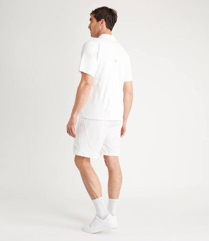 Luther Athletic Woven Short - White