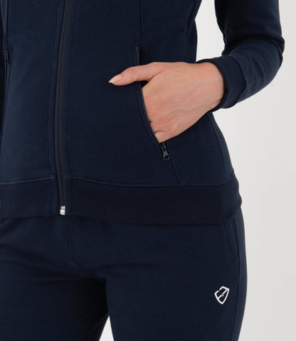 Beatrice Jacket - Navy/White