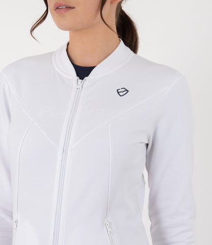 Beatrice Jacket - White/Navy