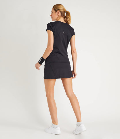 Monique Technical Skort Black