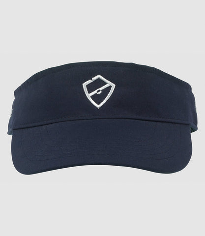 Panoramic Visor - Navy/Silver