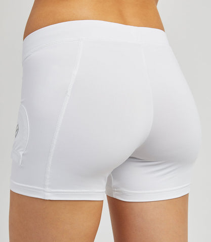 Kara Ball Shorts White
