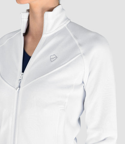 Colette Cotton Jacket - White