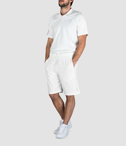 Max Fleece Tank - White