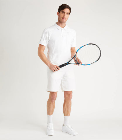 Sebastian Technical Polo - White