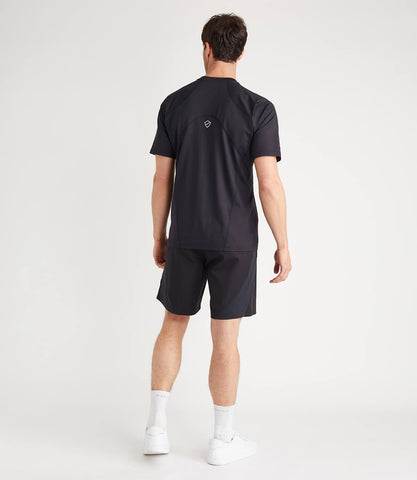 Terence Technical Tee Black