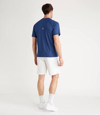 Terence Technical Tee - Blue