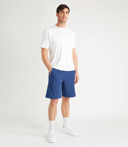 Terence Technical Tee White