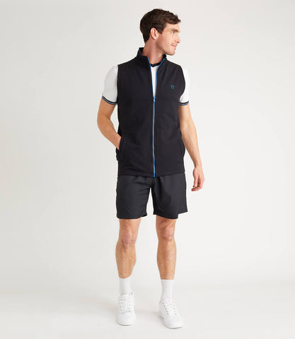 Tour Cotton Gilet Mens Black