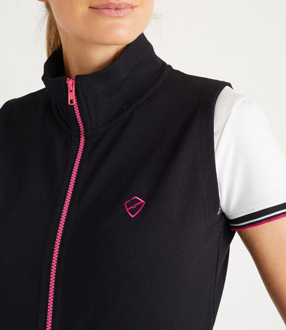 Tour Cotton Gilet Women's Black