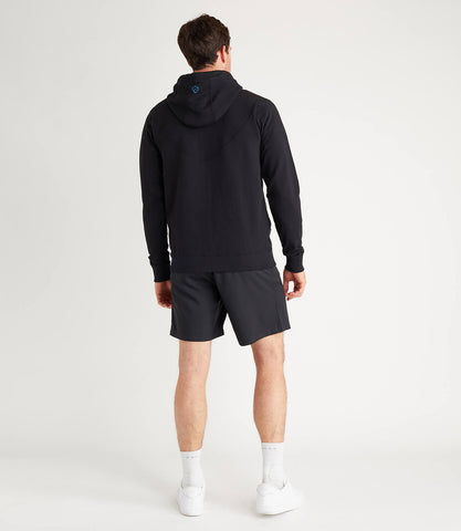 Tour Cotton Hoodie Mens Black