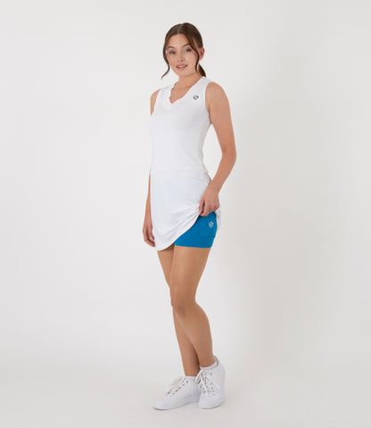 Kara Ball Short - Brilliant Blue/White