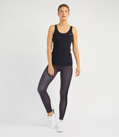 Veronica Performance Vest - Black