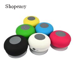 Portable Splash Waterproof Bluetooth Shower Speaker