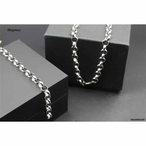 Classic Hip-hop style stainless chain for men,high polished and shine+bracelet