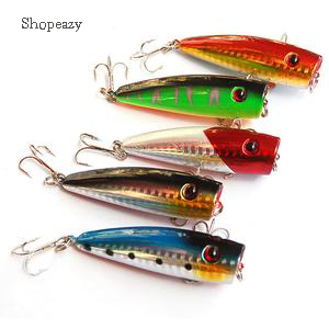 Superbly Colored Popper Lures -9cm #6 fishing hook
