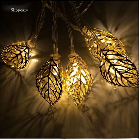 10 LED 1.5m Tree Leaf Lights -Garden&Wedding&Party& Outdoor and Christmas