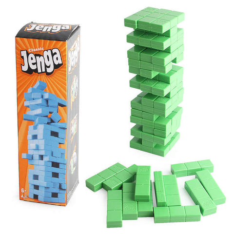 Classic Block Tower Jenga Game
