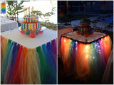 Wedding Party Banquet Table Skirt