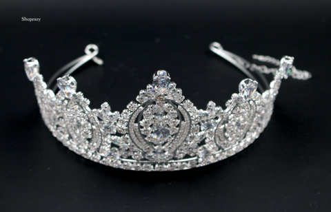Wedding Crown Alloy Bridal Tiara