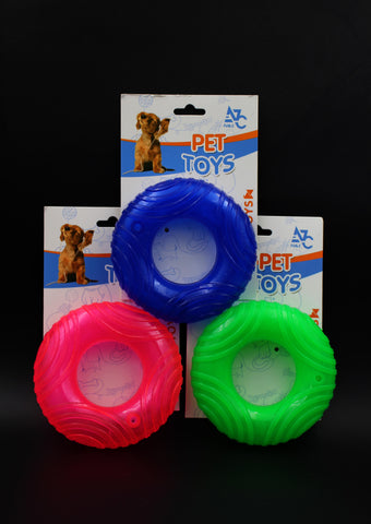 Dog Toy Freezer Donut-shaped