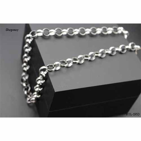 Classic Hip-hop style stainless chain for men,high polished and shine