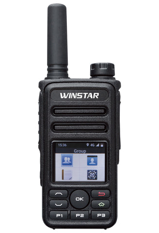 Winstar IP-77 4G LTE Network IP Radio GPS Multifunctional Portable Radio