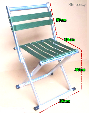 Outdoor folding fishing chair stool