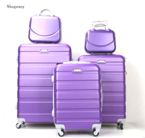Luxury ABS 5 Piece Luggage Set