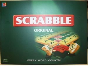 Scrabble - Board Game Every Word Counts