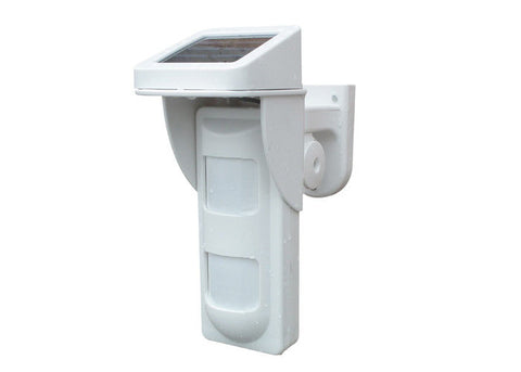 PIR100D Intelligent wireless solar outdoor motion detector  For home Secure Alarm System
