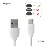 RC-134a 1m Type C USB Charge Data Cable For Samsung For Xiaomi For huawei