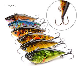 Fishing Bait Fish Lure Hook VIB Crankbaits Spinner Bass Catfish Tackle 6cm