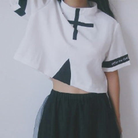 Gothic Cross Athletic Top