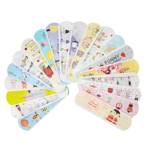 100 Cute Waterproof Bandaids