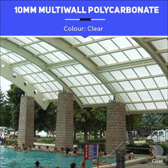 10mm Multiwall Polycarbonate Sheets