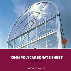 10mm Polycarbonate Sheets Bronze