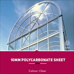 10mm Polycarbonate Sheets Clear