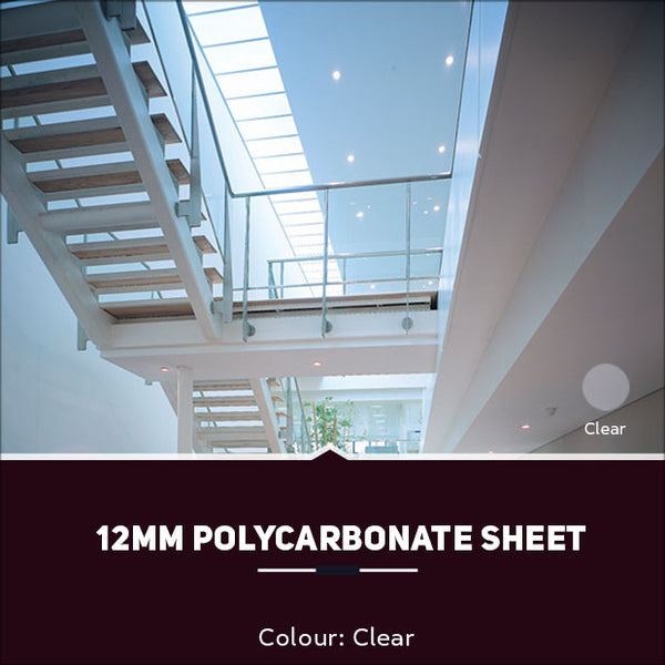 12mm Polycarbonate Sheets Clear