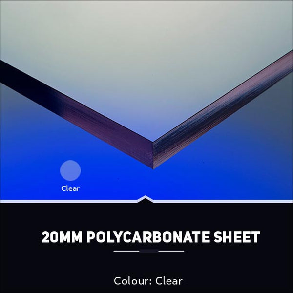20mm Polycarbonate Sheets Clear