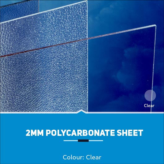 2mm Polycarbonate Sheets Clear