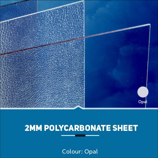 2mm Polycarbonate Sheets Opal