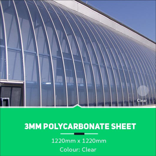 3mm Polycarbonate Sheets Clear